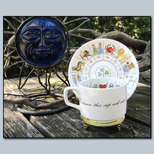 Jon Anton Fortune Tellers Tea Cup and Saucer
