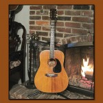 Vintage Gibson J40 Dreadnaught Guitar
