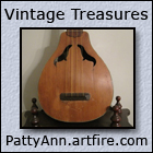 Vintage Musical Instruments and other Vintage Treasures